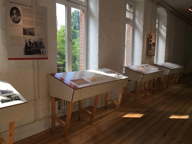 Exhibition hall. Photo: Heike Becker.