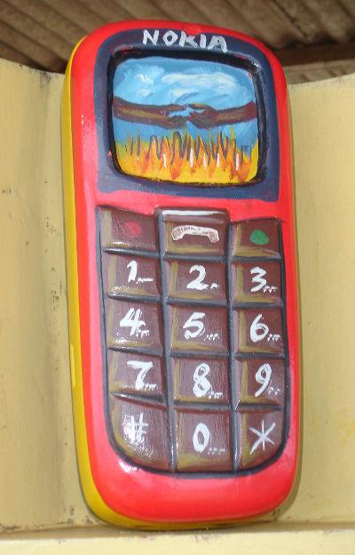 Jewellery box, Accra 2010. Photo: Heike Becker.